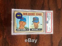 RARE 1968 Topps NOLAN RYAN ROOKIE CARD #177 Baseball Card PSA 4 NICE! CENTERED