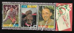 RARE 3LOT 1952 Topps Christmas Rack Pack +two 1961 xmas pks Mickey Mantle on top